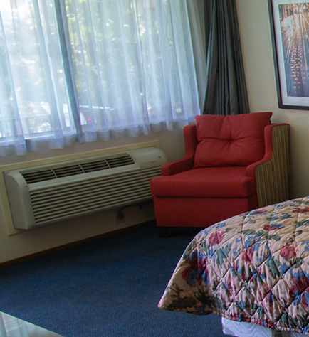 RELAX AND UNWIND IN SPACIOUS AIR-CONDITIONED ROOMS